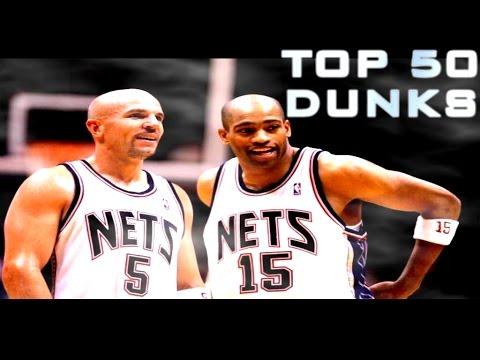 TOP 50 Jason KIDD to Vince CARTER DUNKS!!!