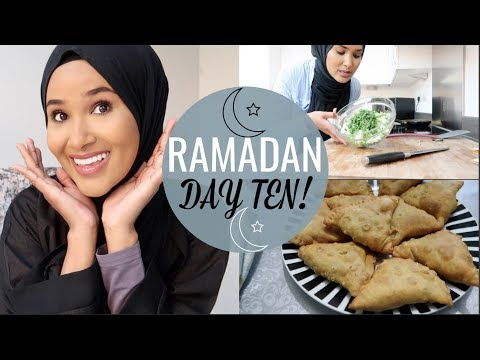 Making Veggie Samosa (FROM SCRATCH)| RAMADAN DAY#10