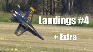 RC Jet Airplane Landings and Crashes - the good the bad the ugly from Temora