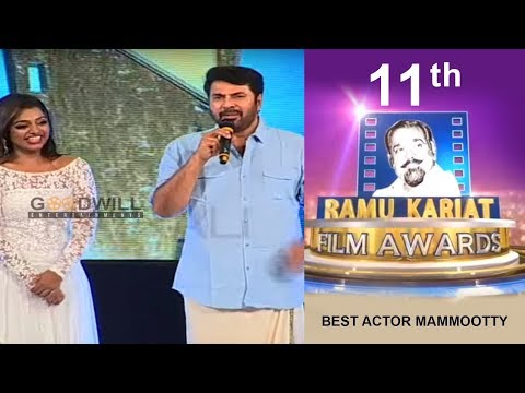 11th Ramu Kariat Film Awards | Best Actor Mammootty   | Nattika Beach Fest
