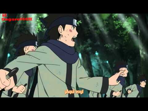 Konohamaru vs Temari (Segundo rasengan)