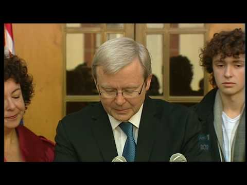 Kevin Rudd's emotional farewell speech (Former Prime Minister) to the Australian people (Part 2)