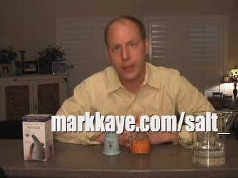 Mark Kaye is The Endorser - Salt Inhaler & Solay Starter Jar