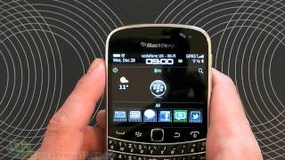 Porsche Design Theme for BlackBerry 9900/9930 demo