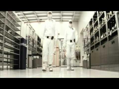 Фабрика Intel по производство процессоров - Видео