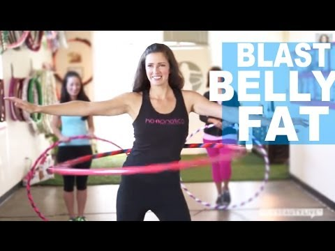 Blast Your Belly Fat With A Hula Hoop | Fitness Tips | NewBeauty Body