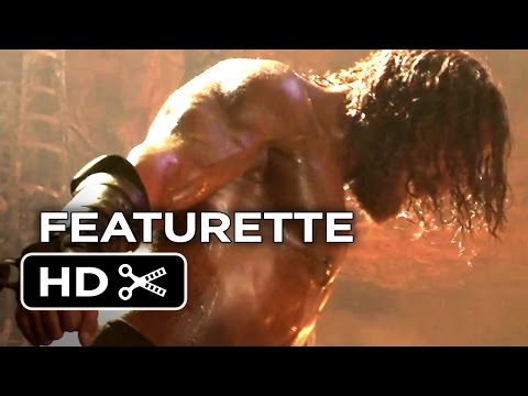 Hercules Featurette - Larger Than Life (2014) - Dwayne Johnson, Irina Shayk Mythology Movie HD klip izle