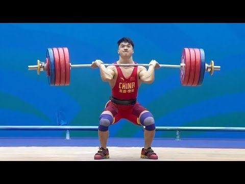 Tian Tao – 223 kg Clean & Jerk / 2017 Chinese National Games Weightlifting