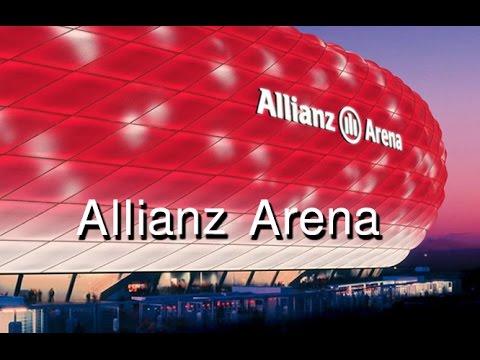 Bayern Munich's Allianz Arena Stadium Tour