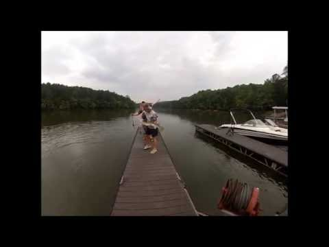 Gar Fishing Lake Allatoona 6-7-13