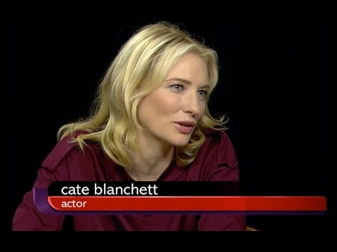 Cate Blanchett; Women in Leadership — Charlie Rose Oct 12, 2007
