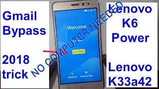 Lenovo k6 power frp No needed computer #easy way