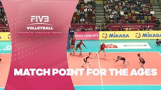 Match point for the ages - FIVB World Grand Prix