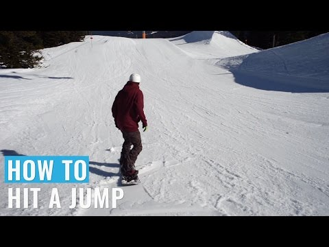 How To Hit A Jump On A Snowboard