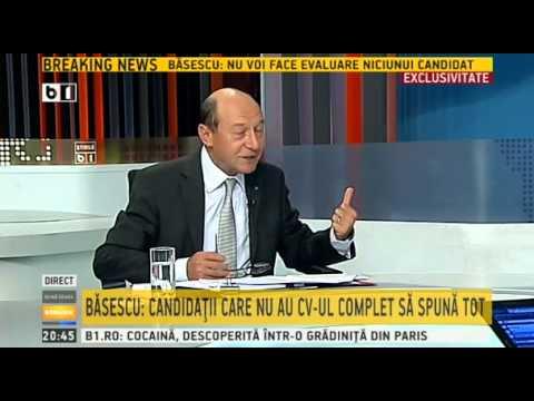 Buna seara, Romania - 20 august 2014 - invitat Traian Basescu - emisiune completa
