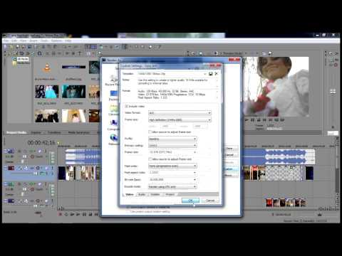 24fps Best Render settings for mp4. Bluray. DVD in Sony Vegas Pro