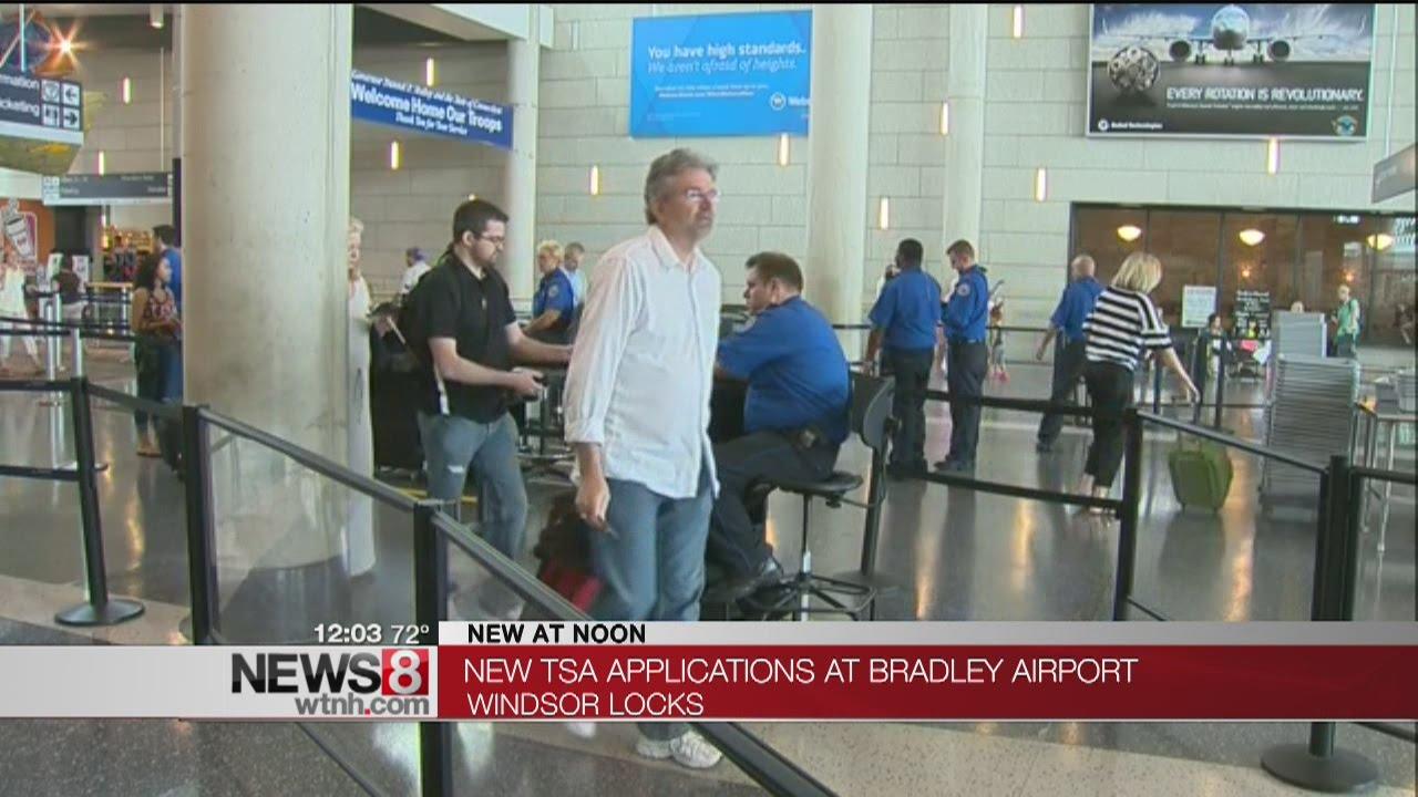 TSA Pre-Check Applications at Bradley Airport