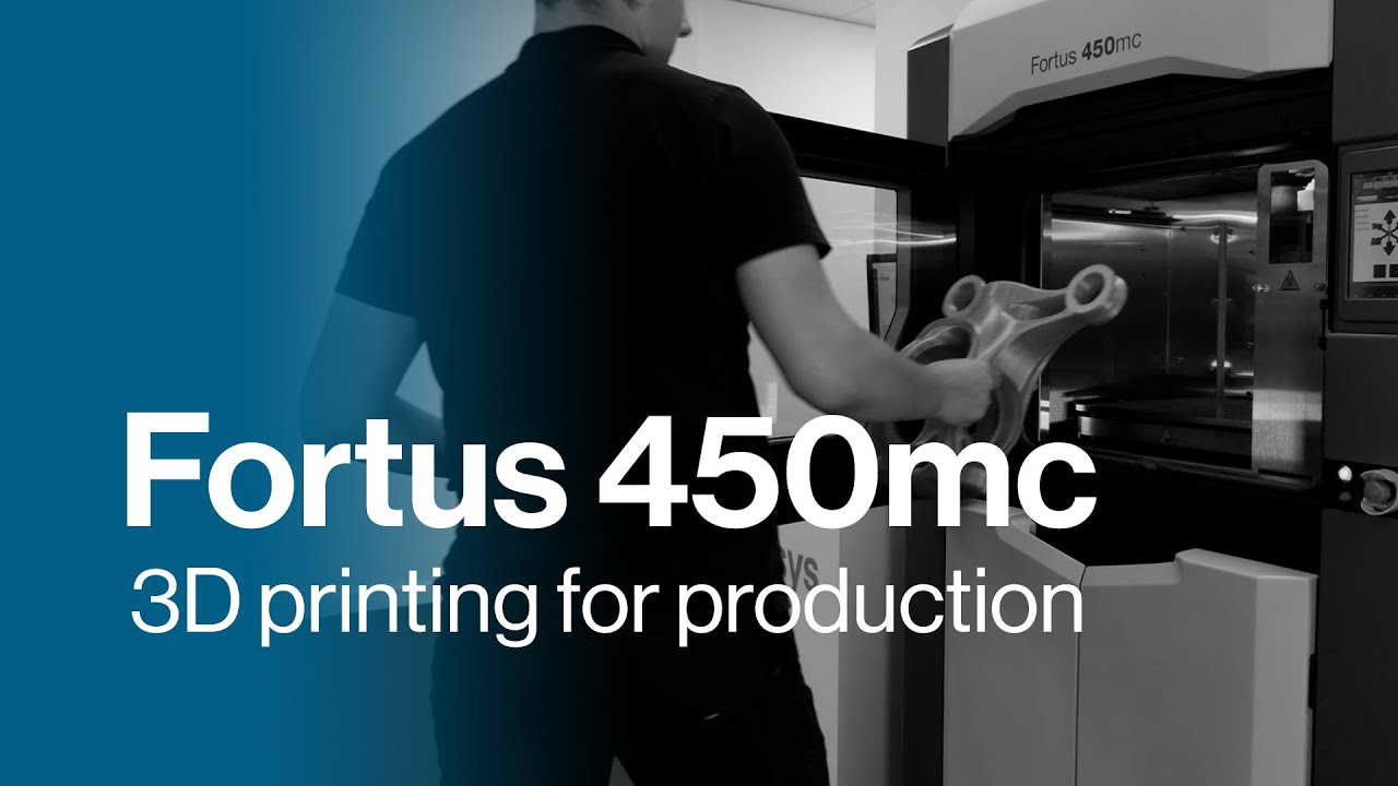 3D printing for manufacturing with jigs, fixtures and factory tooling | Stratasys Fortus 450mc