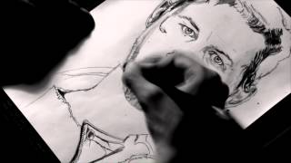 "SPEED DRAWING #1 - Tom Hardy : ""Mad Max"""