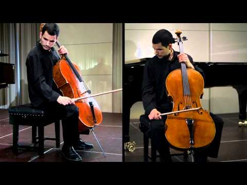 Ruben Palma, cellist and Semi-Finalist in the Australian Cello Awards performs Prokofiev Cello Concerto in e Op125 in the Round 2 Semi-Finals at Royal Over-S...