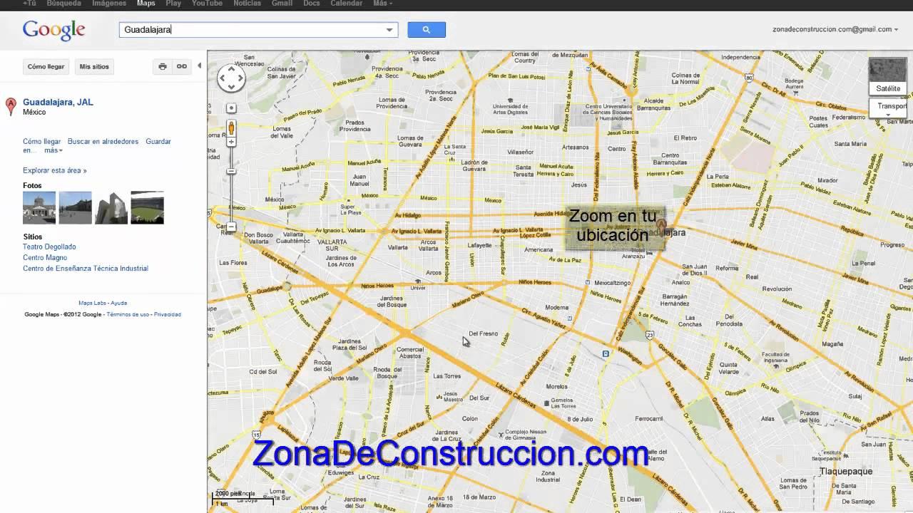 Como crear un croquis de ubicaci n youtube for Como crear un plano
