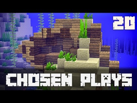 Chosen Plays Minecraft 1.13 Ep. 20 Shipwreck Build