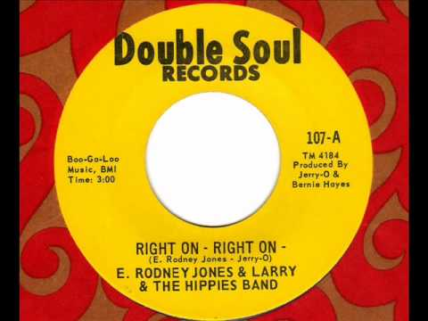 E RODNEY JONES Right on - Right on Chicago Rare Soul