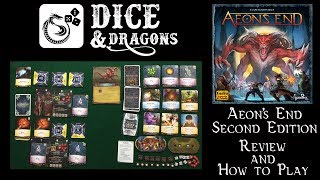 Dice and Dragons -  Aeon's End Second Edition Review and How to Play