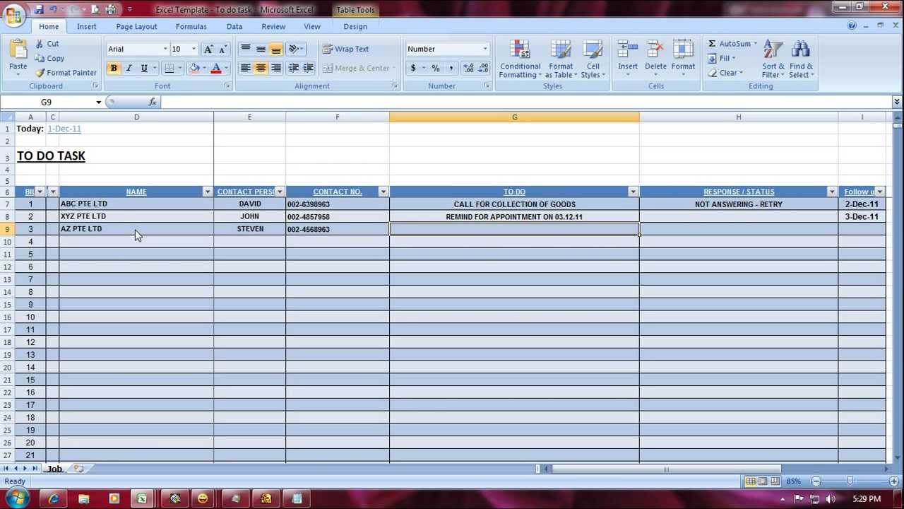 Free Excel Online templates on Officecom