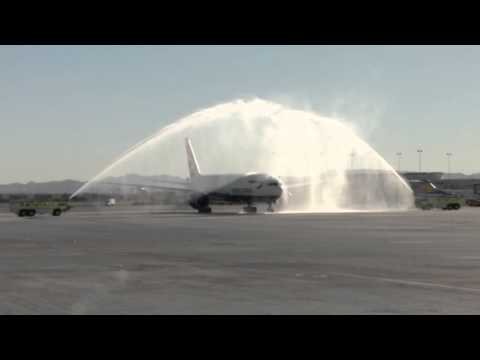 Las Vegas, British Airways Inaugural flight from London Gatwick - Unravel Travel TV