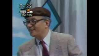 Tezuka Osamu singing Tetsuwan Atom (japan tv)