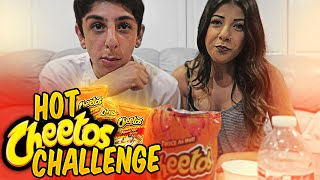 HOT CHEETOS CHALLENGE w/ MY COUSIN!! | FaZe Rug