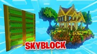 MY FIRST AUTO FARM! - Minecraft SKYBLOCK #13