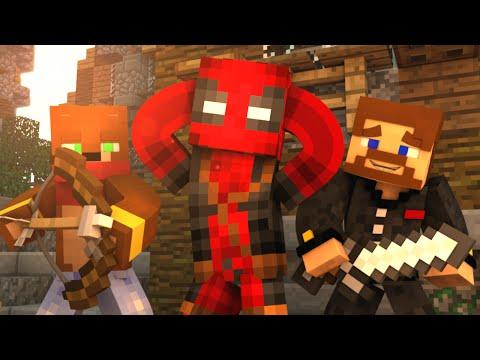 ДЭДПУЛ ИГРАЕТ ПРОТИВ НАС - Minecraft BedWars #79