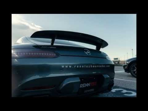 World's First AMG GT-S 10sec 1/4 Mile Pass | RENNtech | ADV.1