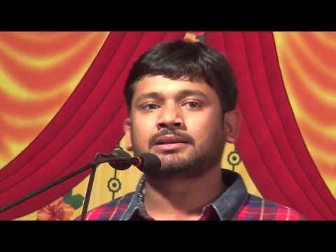 """KANHAIYA KUMAR (in Mumbai): """"I Have Great Respect For Our PM"""" (full speech)"""