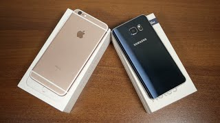 خمس اسباب تجعل Galaxy note 5 افضل من iPhone 6s plus