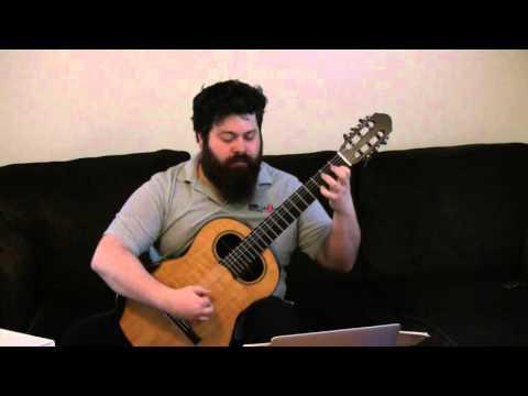 Dionisio Aguado - Etude N 19 Metodo De Guitarra - Part 1