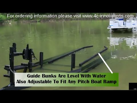 Pontoon Boat Retrieving And Launching...