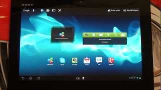 Sony Xperia Tablet S Hands On