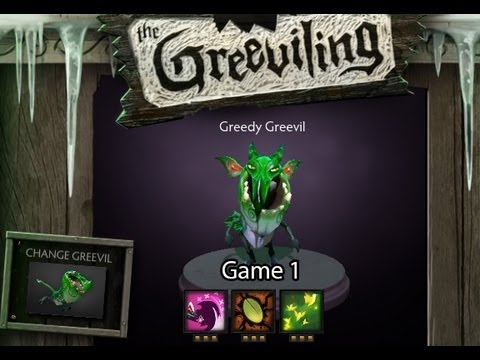 DOTA 2 with Alan: New Mode - The Greeviling  - Game 1
