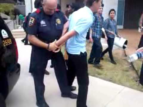 Me getting arrested at school lol XD