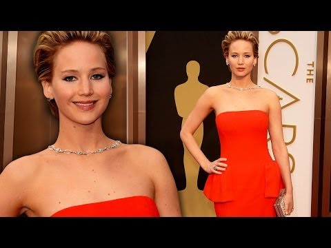 Jennifer Lawrence on the Red Carpet Oscars 2014