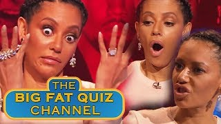 Best of Mel B | Big Fat Quiz of the Year 2014