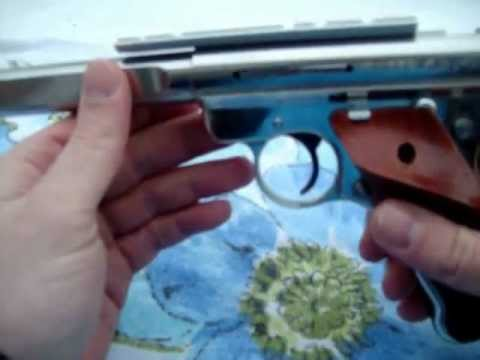 #1 Ruger Mark III field strip video! ALL THE