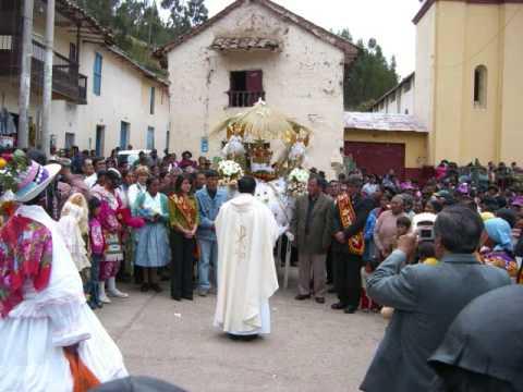 Navidad de Lircay 2007 Gino Ñavincopa mayordomo