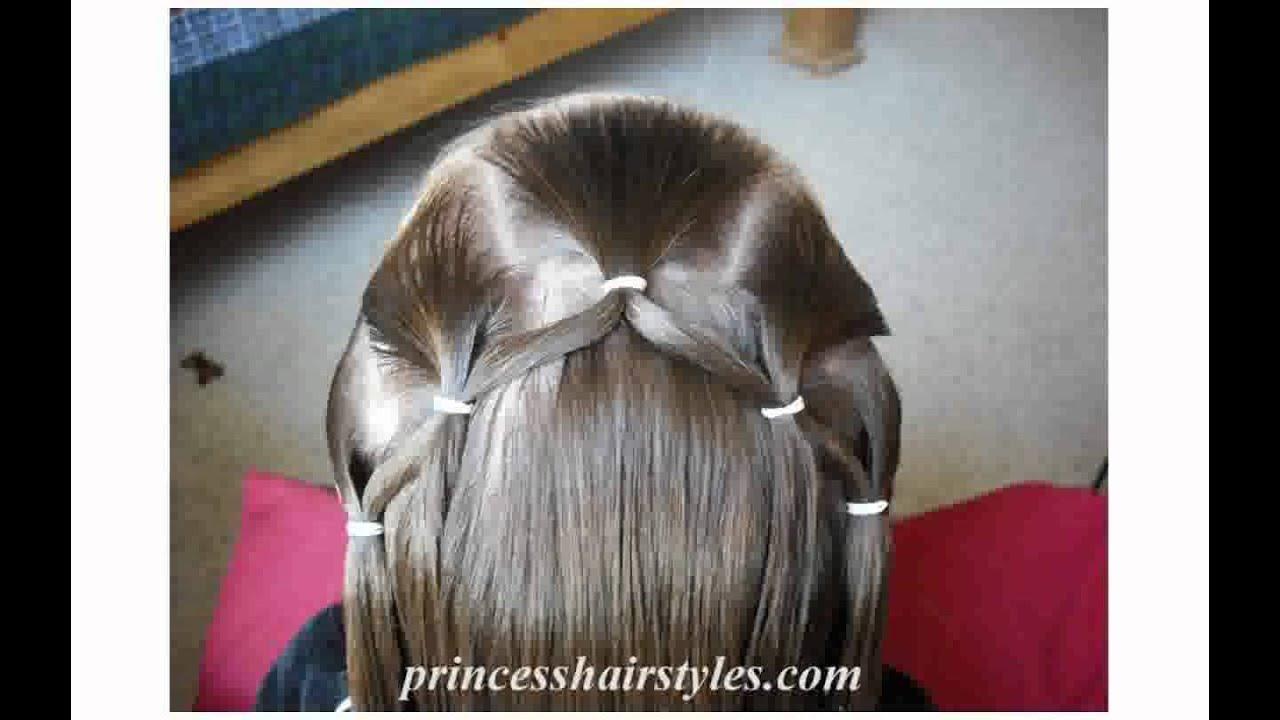 Acconciature per capelli medi bambina