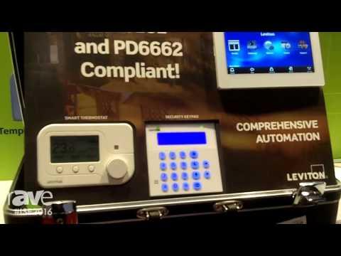 ISE 2016: Leviton Exhibits EN50131 Compliant Controllers