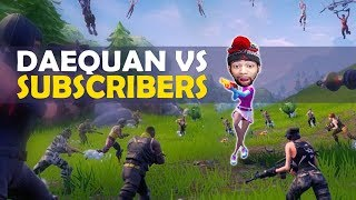 DAEQUAN VS HIS SUBSCRIBERS... | CRAZY SCRIM MATCH