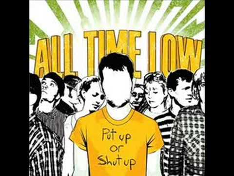 The Girls A Straight Up Hustler - All Time Low w/lyrics Video